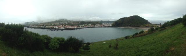 Panoramic view of Horta