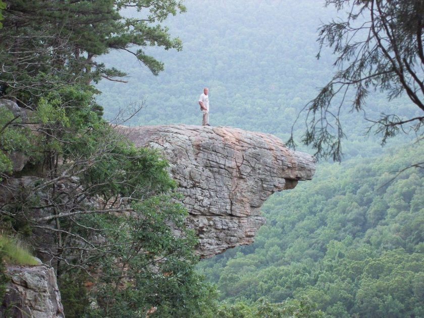 RussellandScarlet Raborn - Hawksbill Crag, Ponca, Arkansas