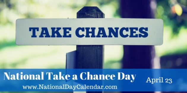 Take a Chance Day