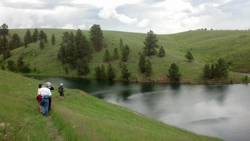 Deerfield Lake, near Hill City, SD