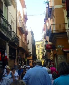 Downtown Valencia, Spain