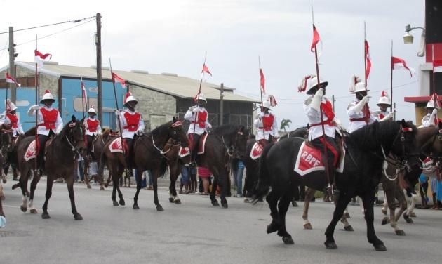 Barbados parade