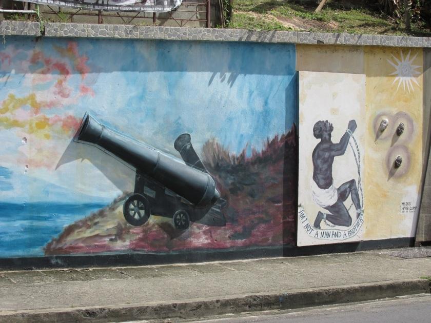 Scarborough Tobago mural