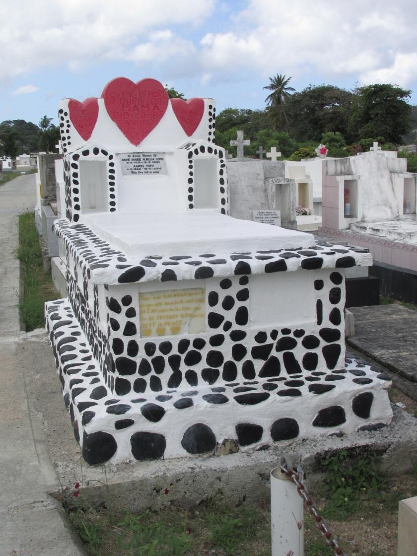 St Lucia grave