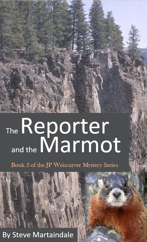 "The latest book, ""The Reporter and the Marmot,"" has been published. Get yours here."