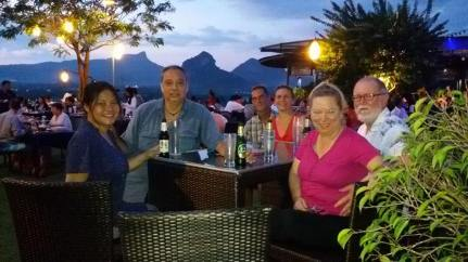 Hilltop Resturant in Ao Nang