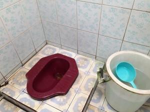 Squat toilet