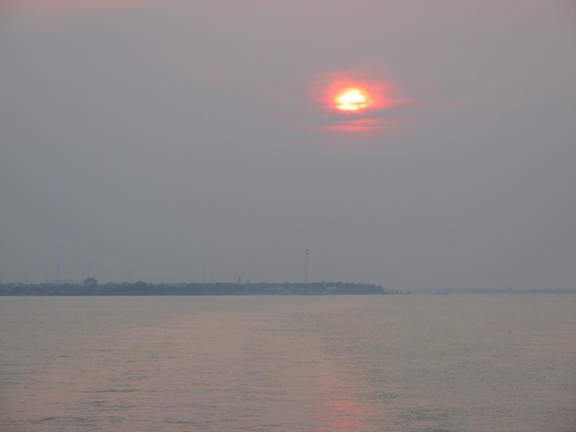 Alter do Chao smoky sunrise