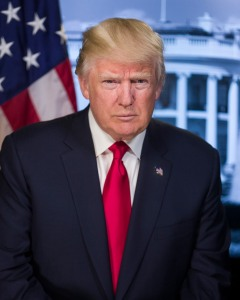 Trump official photo