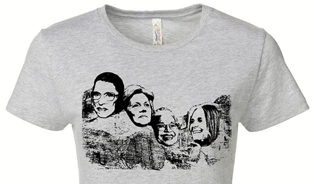 Female Mount Rushmore