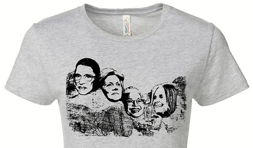 Female Mount Rushmore