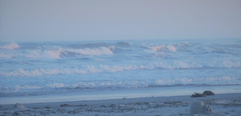Bluish blue wave