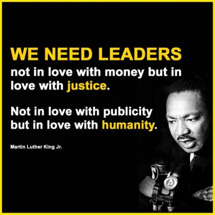 MLK - leaders