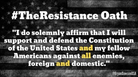 Resistance oath