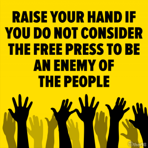 Free press not the enemy