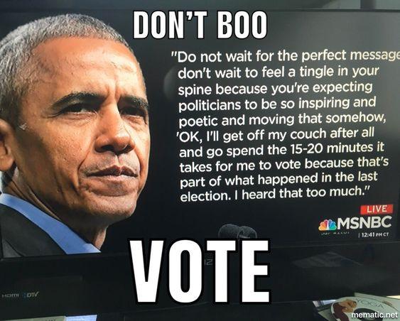 obama - go vote