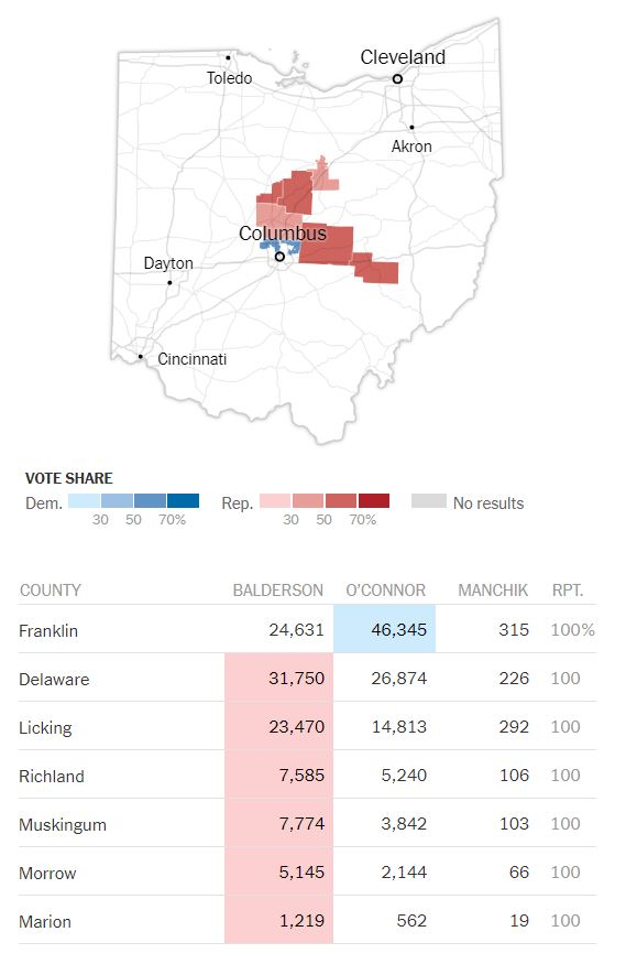 Ohio-12 Gerrymandering