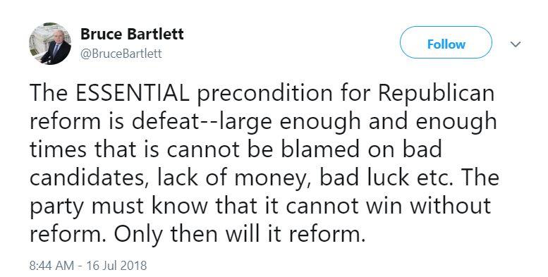 Republican defeat