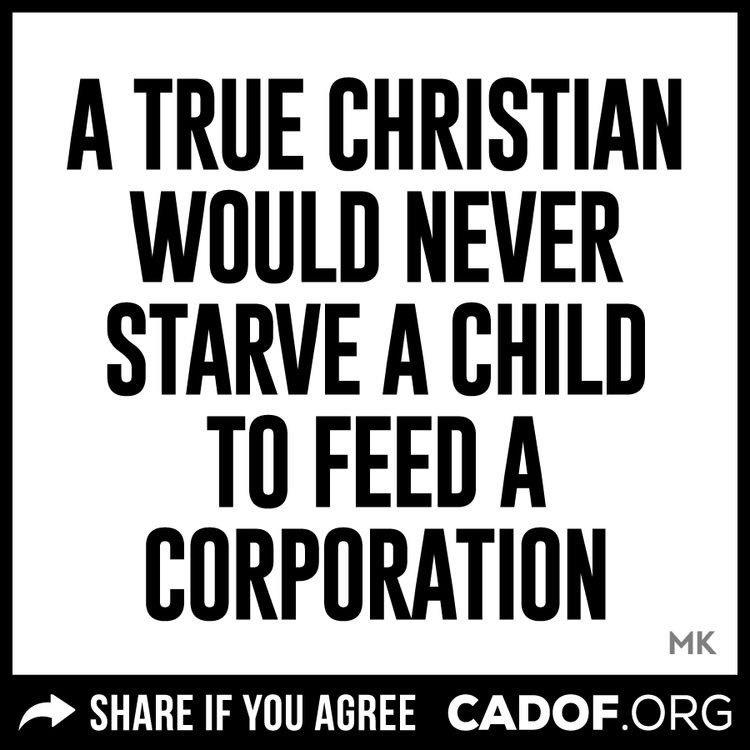 Starve a child
