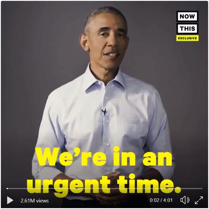 Obama vote frame