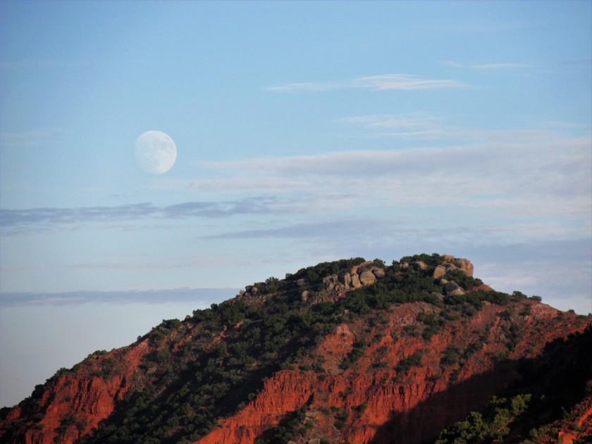 Caprock moonrise