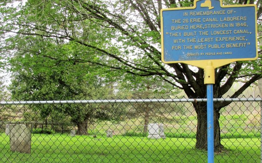 Canal graveyard
