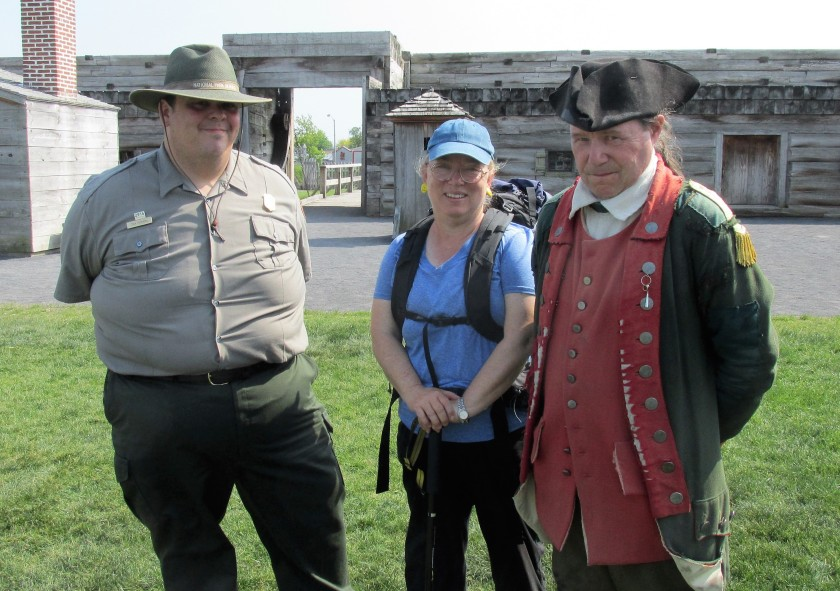 Fort Stanwix with Tom, Leah and Dave