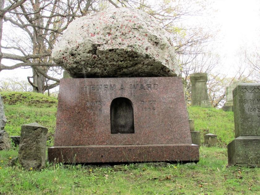 Henry Ward gravestone